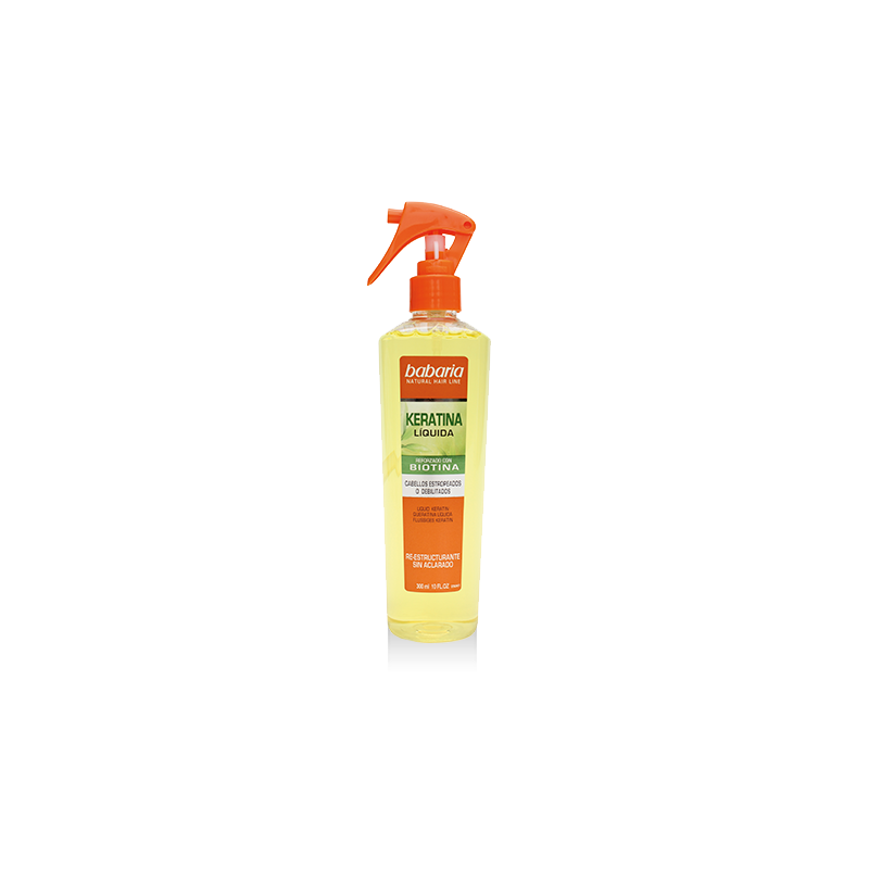 spray cheveux à la kératine