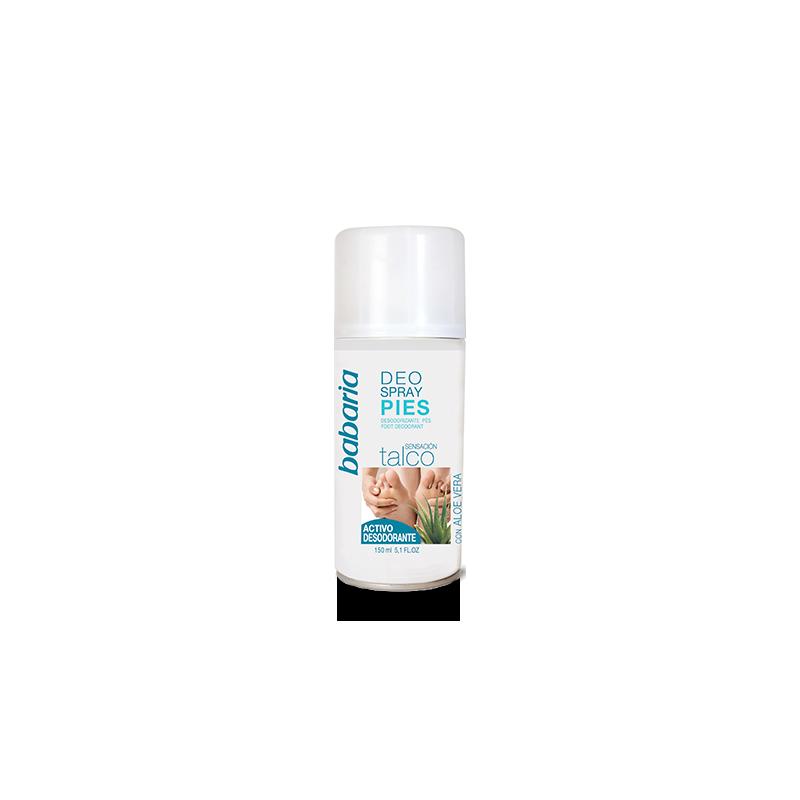 spray déodorant pour les pieds à l'Aloe Vera