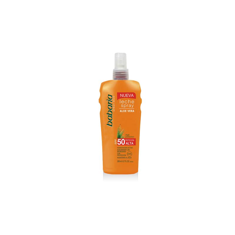 Lait solaire corps SPF 50 à l'Aloe Vera