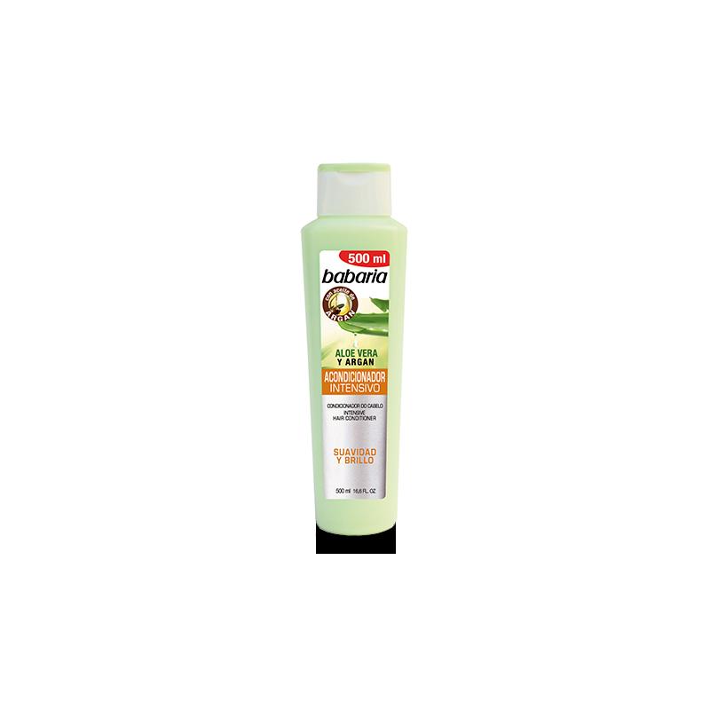 Après-shampoing Aloe et argan