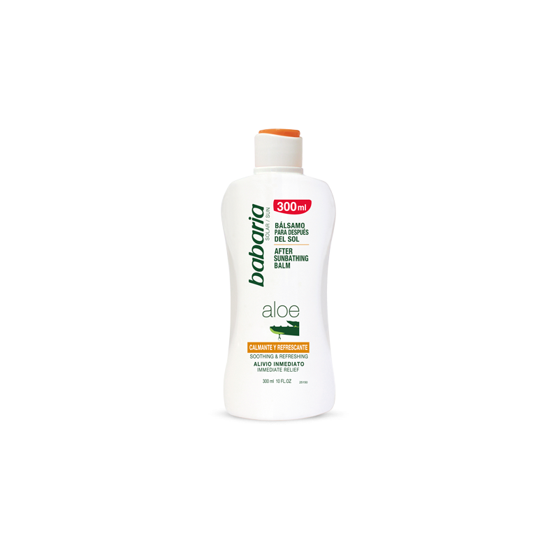 Lait après-soleil Aloe Vera 300 ml Babaria