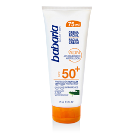 Creme solaire visage SPF 50 Babaria