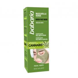 Masque à l'huile de cannabis