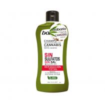 shampoing réparateur à l'huile de cannabis