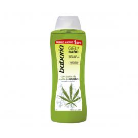Gal bain douche à l'huile de cannabis