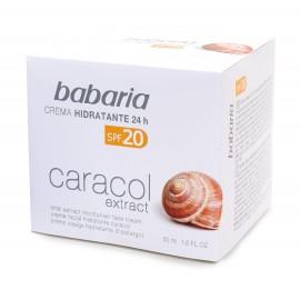 Crème hydratante aux Extraits de bave d'escargot BABARIA